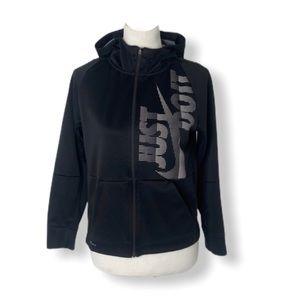 Girls size large Nike Dri fit hooded sweatshirt